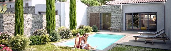 Villa en Corse à Cala Rossa avec piscine privée