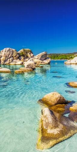 Location une villa en Corse près de la plage Palombaggia
