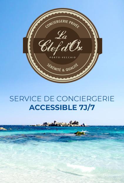 Service conciergerie accessible 7 jours sur 7
